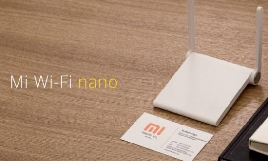 Xiaomi Mi Wi Fi nano
