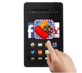 Fire HD 6タブレット   持ち運びに便利な高性能タブレット