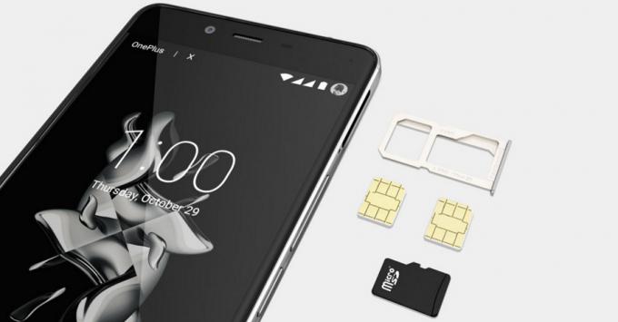 OnePlus X SIM