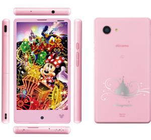 Disney Mobile on docomo DM 01H   2015 2016 背面パネル NTTドコモ