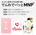 freetel SIM でんわでパッとMNP