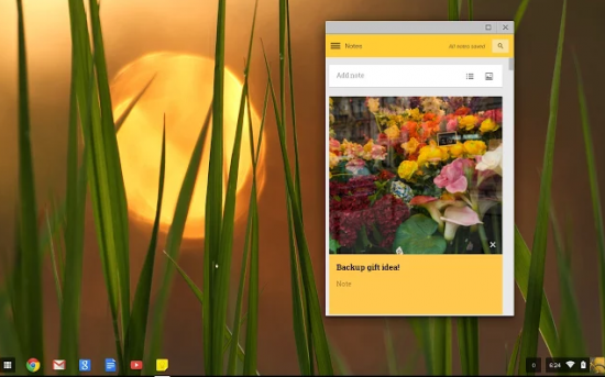 Google Chrome Google Keep