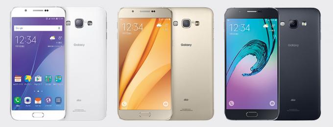 Galaxy A8|スマホ最新機種 2015 秋冬モデル|au color