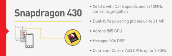 snapdragon 430