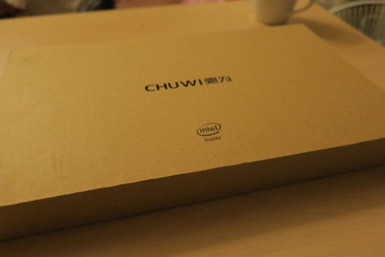 CHUWI Hi10 unboxing