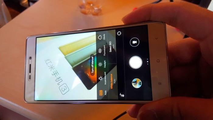Xiaomi redmi 3 camera manual