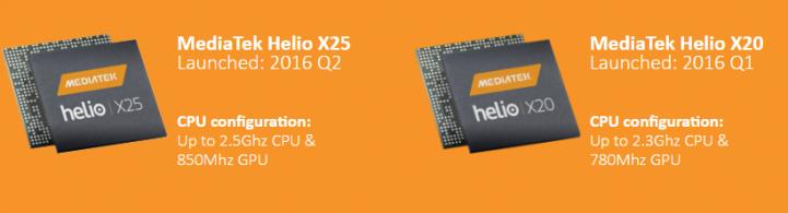 Helio X20 X25