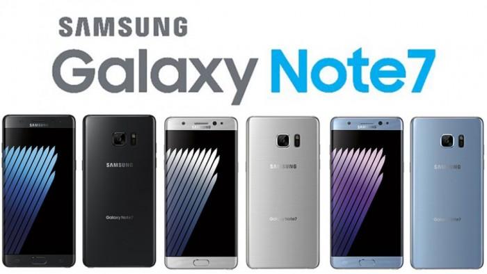 galaxy note 7 color leak