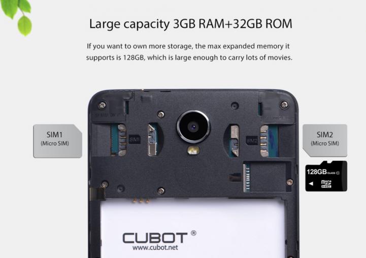 RAMも3GB、ROMが64GBと全体的なスペックもなかなかのもの。