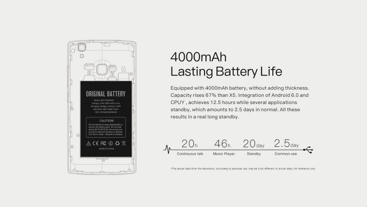 doogee 5x max pro battery