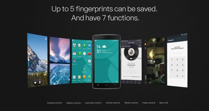 doogee x5 max pro fingerprint sensor 2