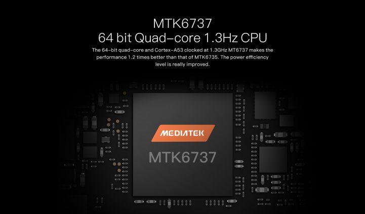 mediatek  MTK6580 quad core cpu