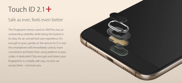 umi-plus-fingerprint-sensor