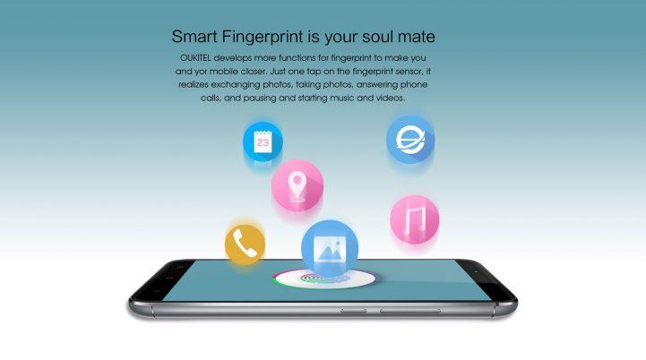 oukitel u15 pro fingerprint sensor 2